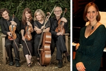 The Fitzwilliam at Hay 2019: The Fitzwilliam String Quartet with pianist, Anna Tilbrook