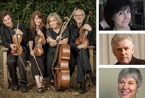 The Fitzwilliam at Hay 2019: The Fitzwilliam String Quartet with members of the Dragonfly Trio