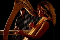 Hay Music: Three Harps - Ruth Wall & composer Graham Fitkin